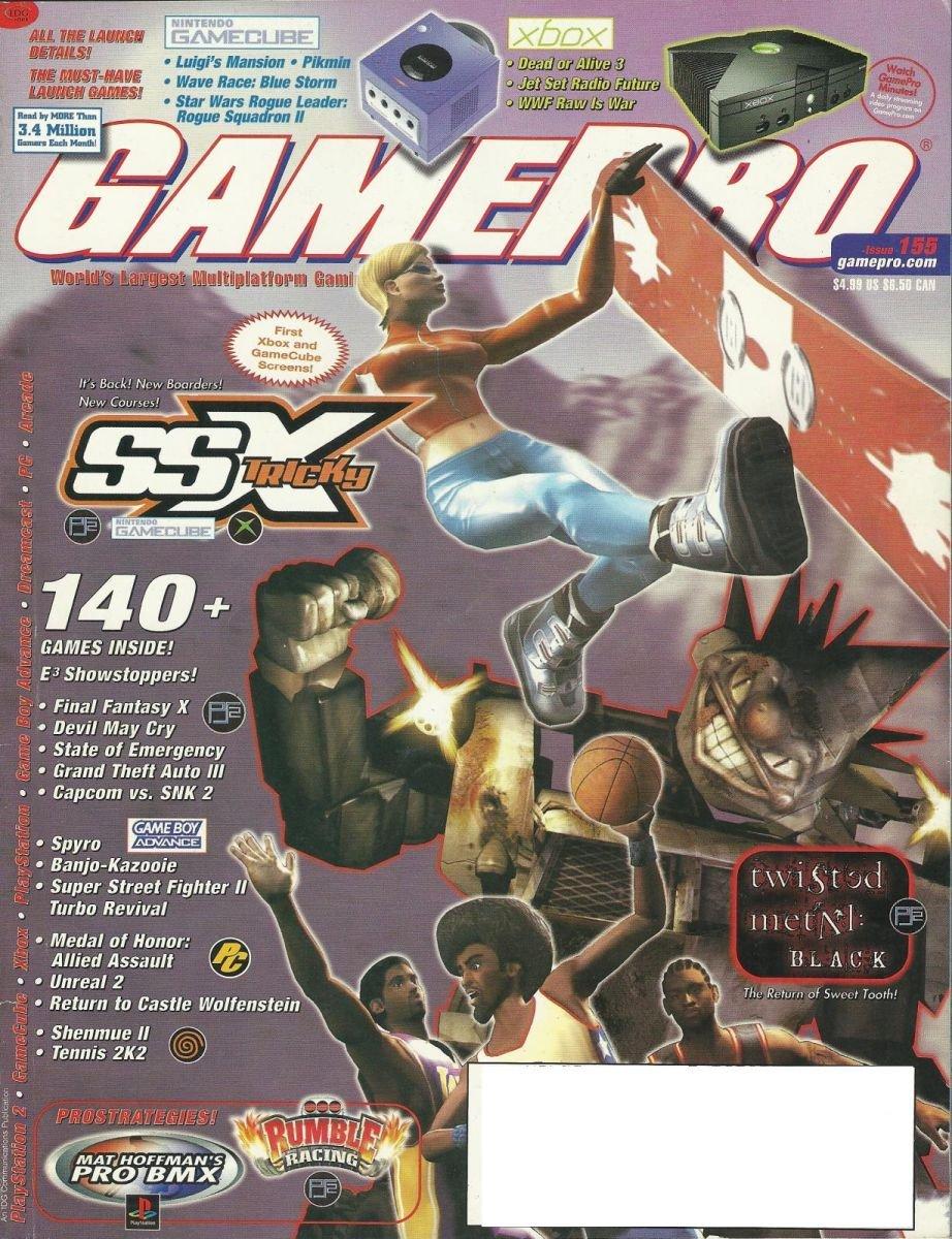 Gamepro Issue 155 August 2001