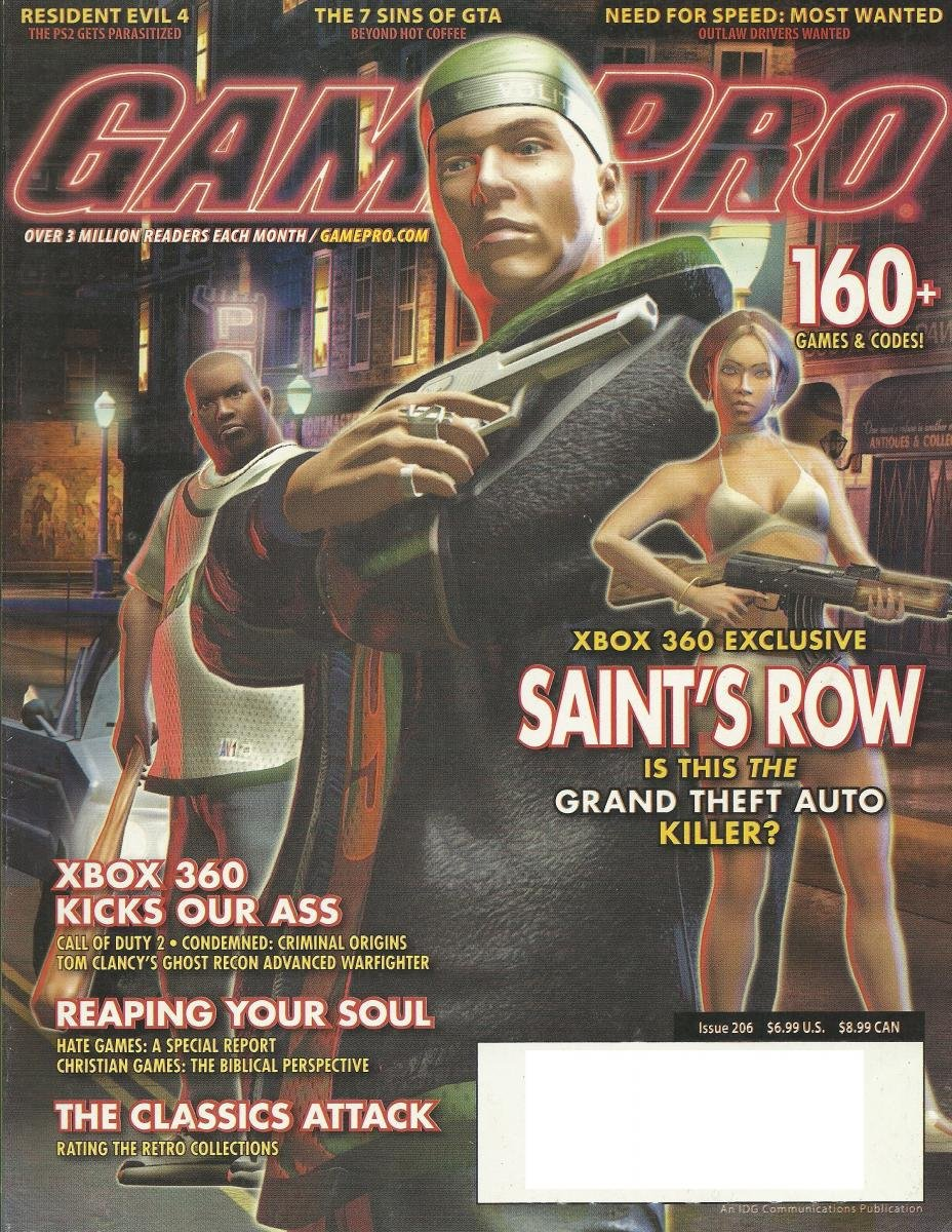 Gamepro Issue 206 November 2005