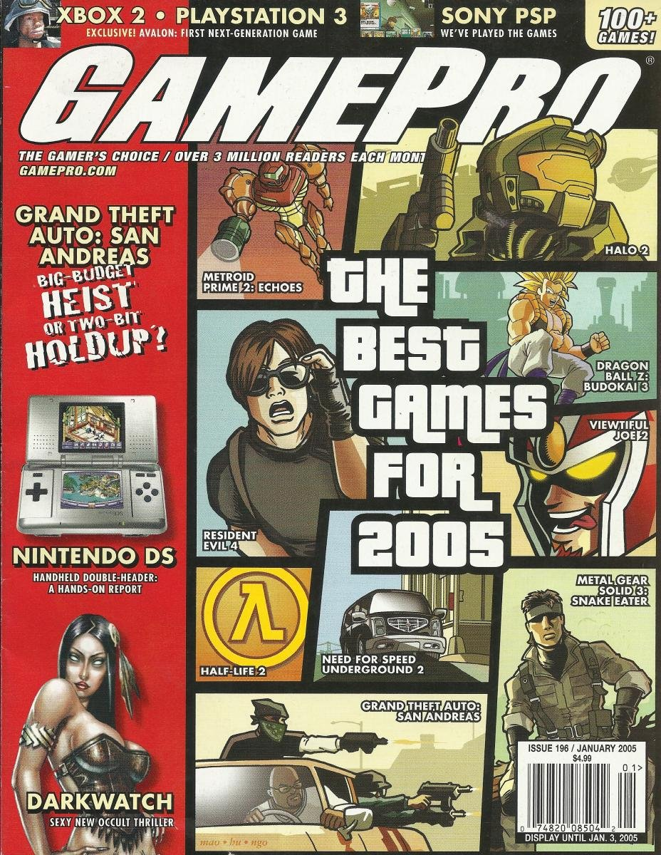 Gamepro Issue 196 January 2005