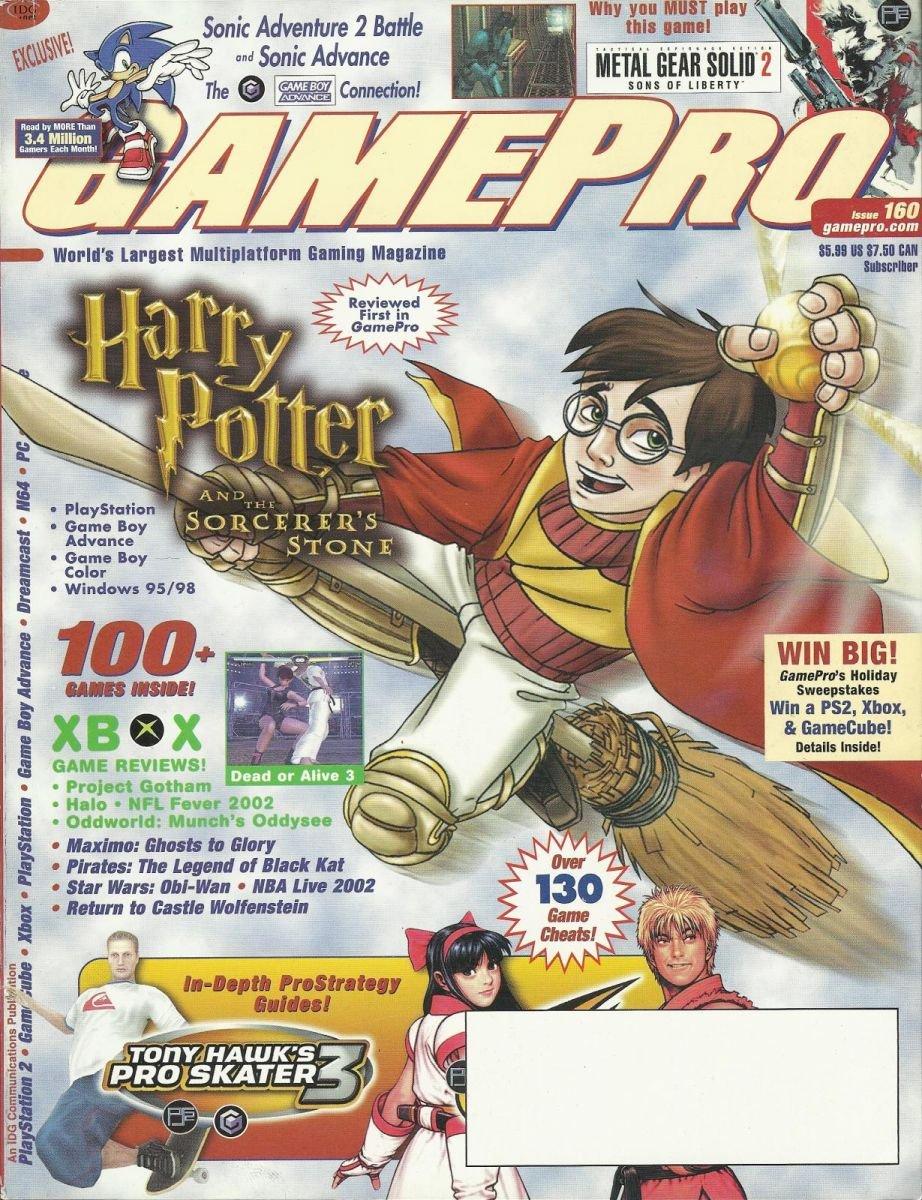 Gamepro Issue 160 January 2002