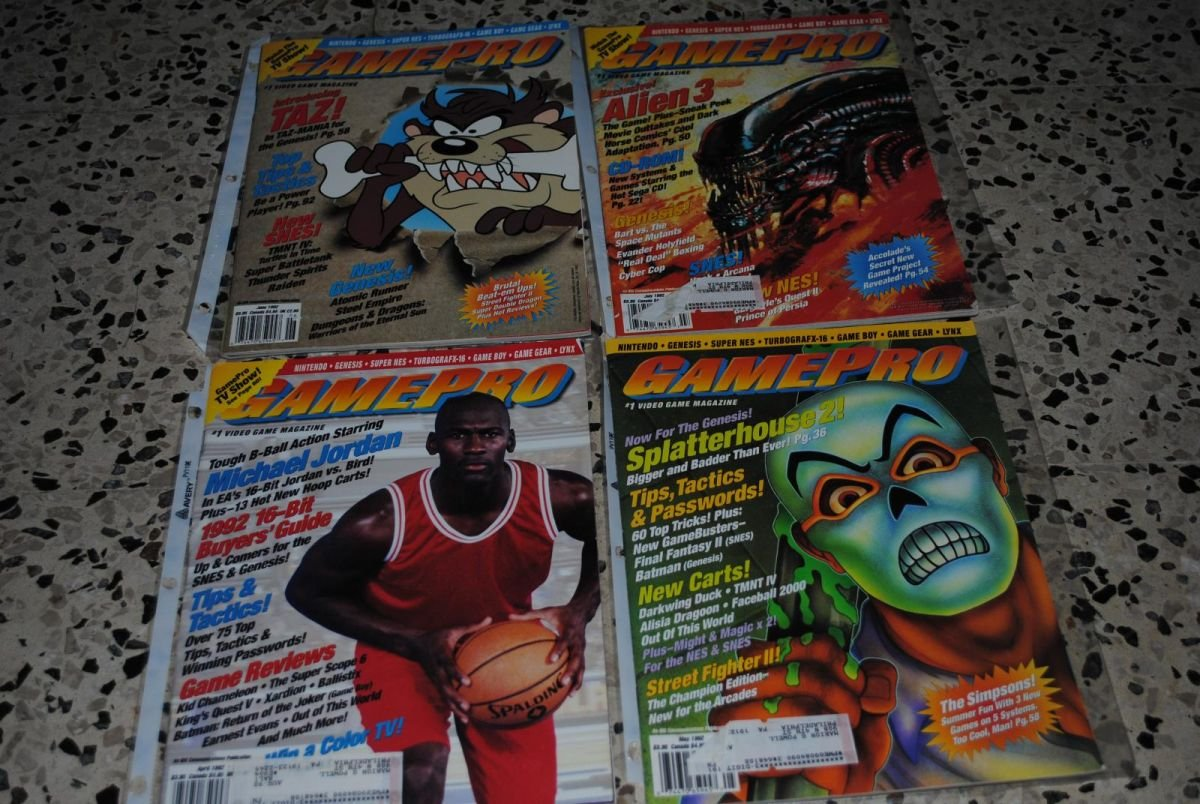 Gamepro Issues 33-36 1992