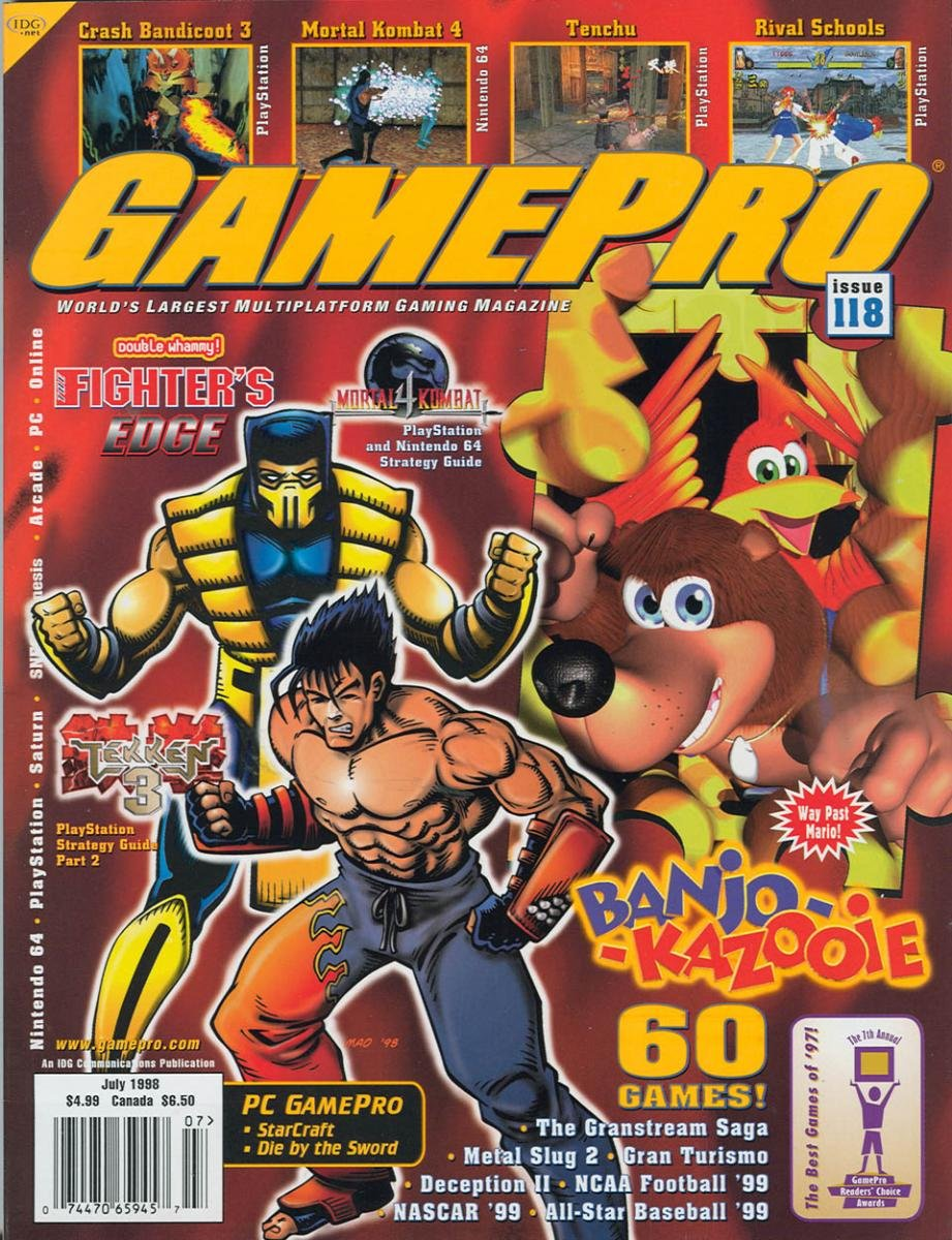 GamePro Issue 118 July 1998