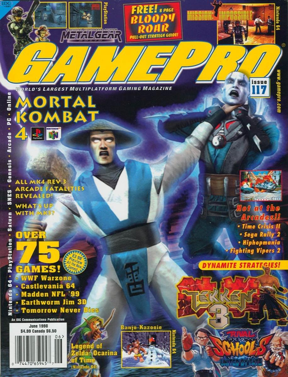GamePro Issue 117 June 1998