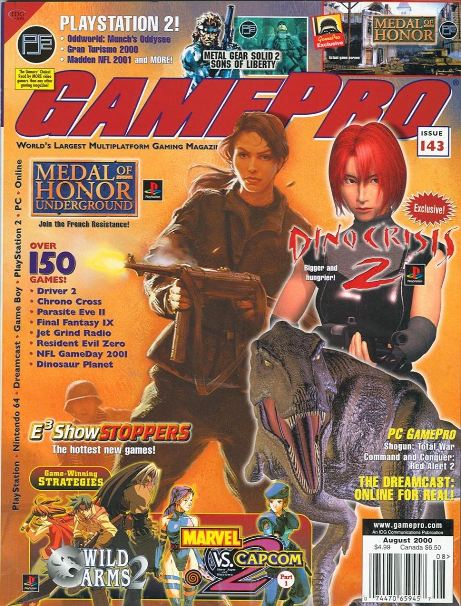GamePro Issue 143 August 2000