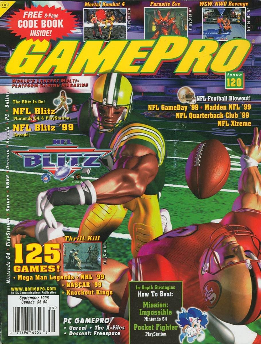 GamePro Issue 120 September 1998