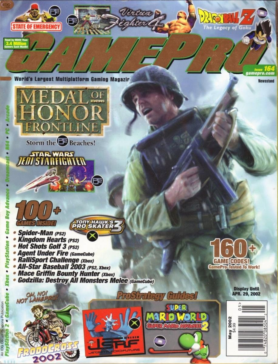 GamePro Issue 154 May 2002