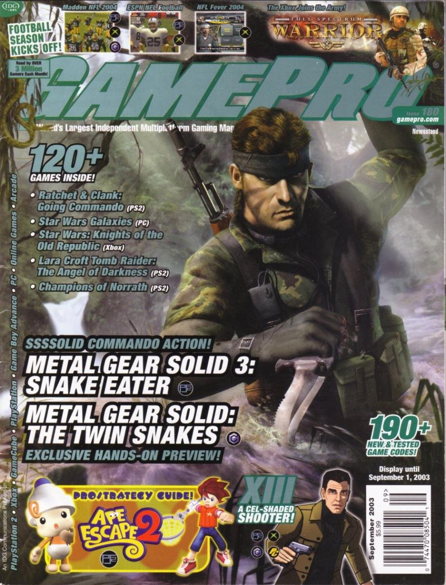 GamePro Issue 180 September 2003