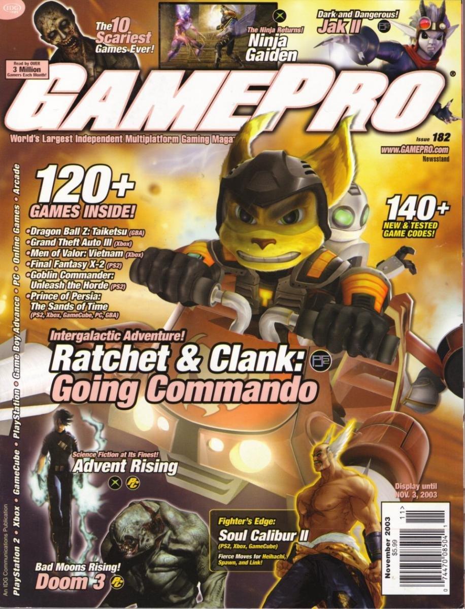 GamePro Issue 182 November 2003