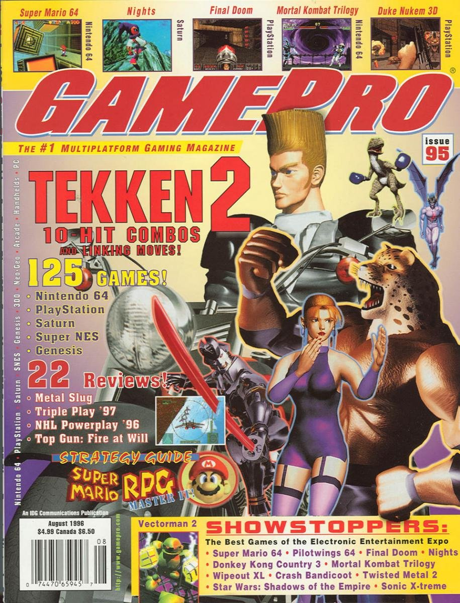 GamePro Issue 095 August 1996