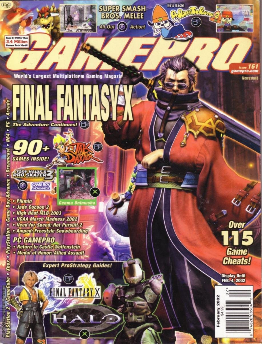 GamePro Issue 161 February 2002