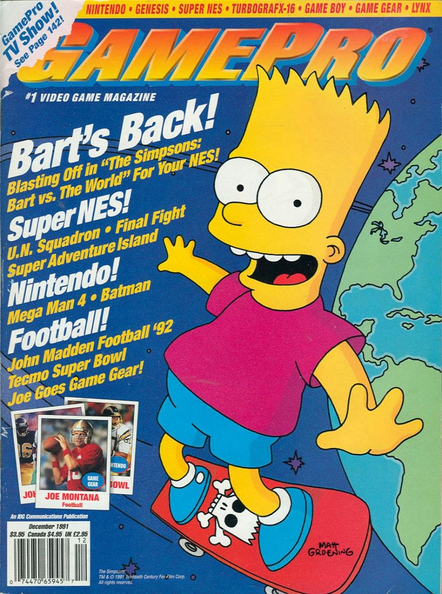 GamePro Issue 029 December 1991