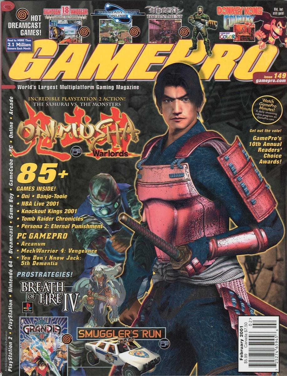 GamePro Issue 149 February 2001
