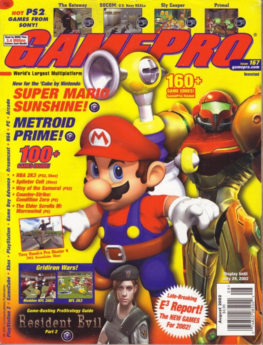 GamePro Issue 167 August 2002