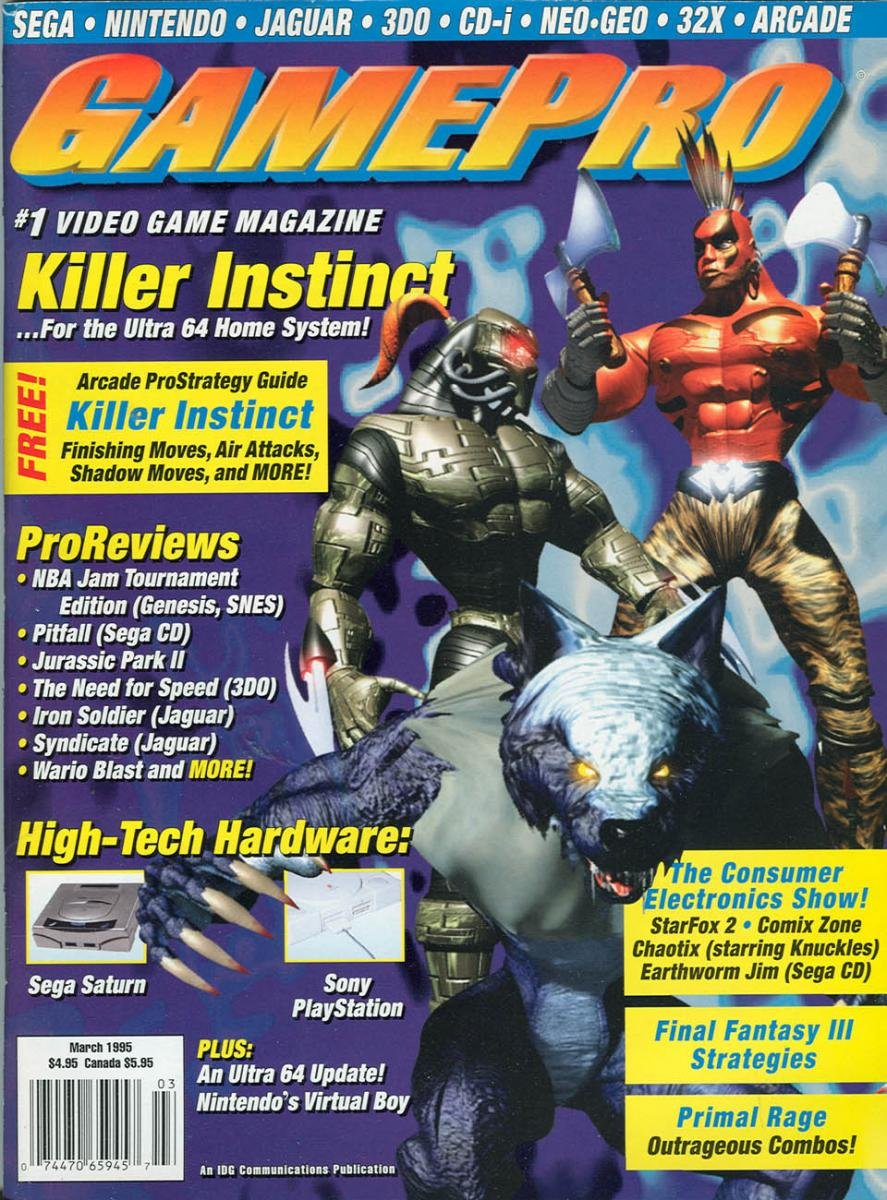 GamePro Issue 068 March 1995
