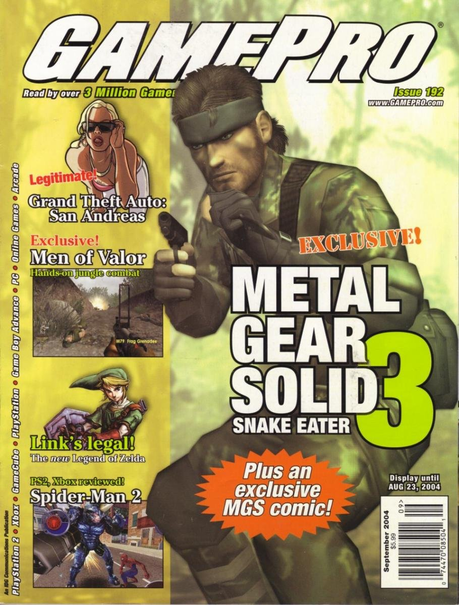 GamePro Issue 192 September 2004