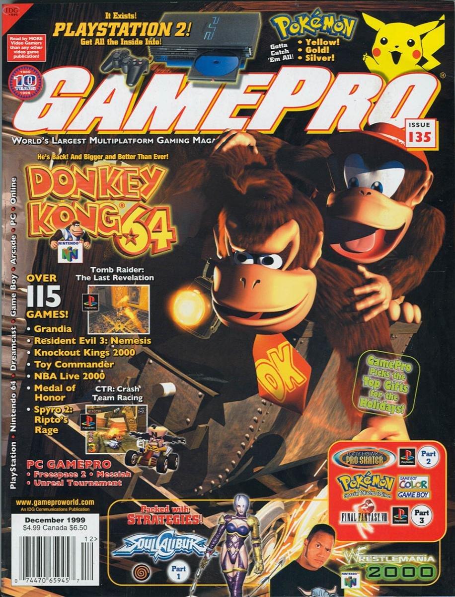 GamePro Issue 135 December 1999