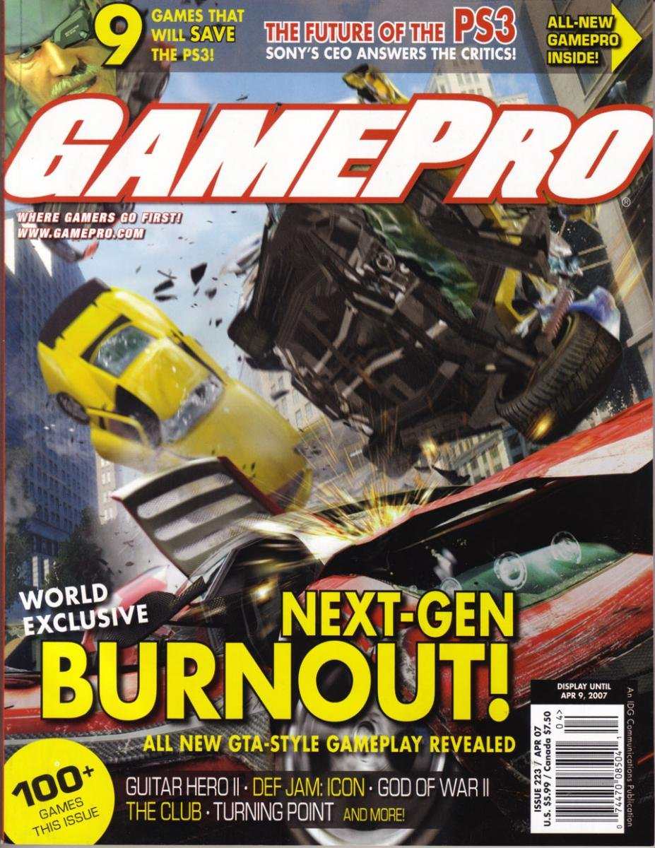 GamePro Issue 223 April 2007