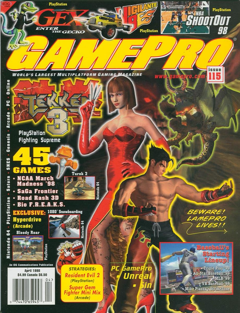 GamePro Issue 105 April 1998