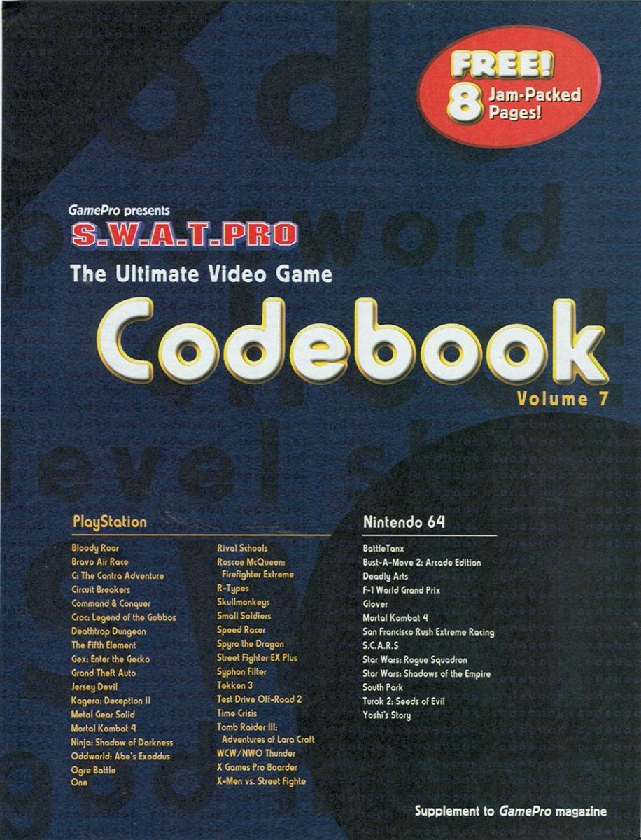 GamePro Issue 119 June 1999 Supplement 1