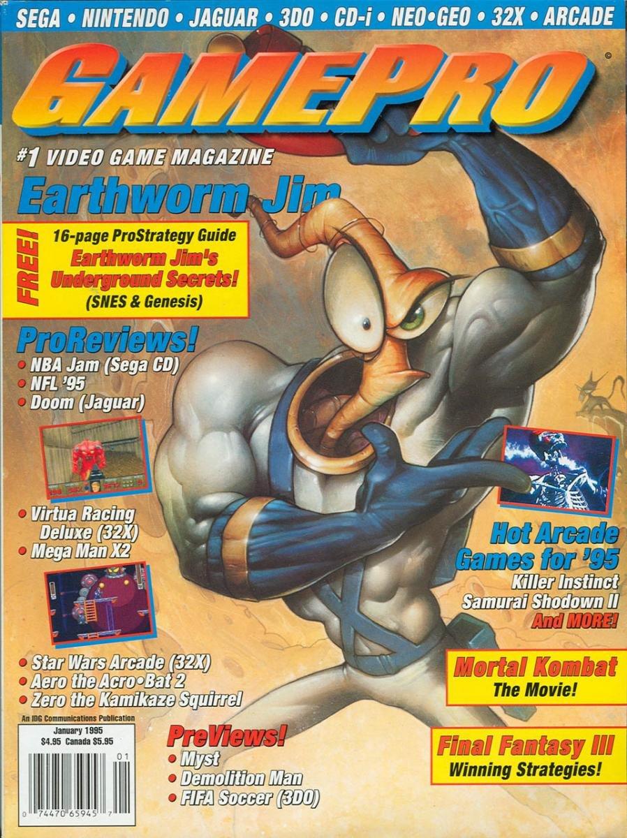 GamePro Issue 066 January 1995
