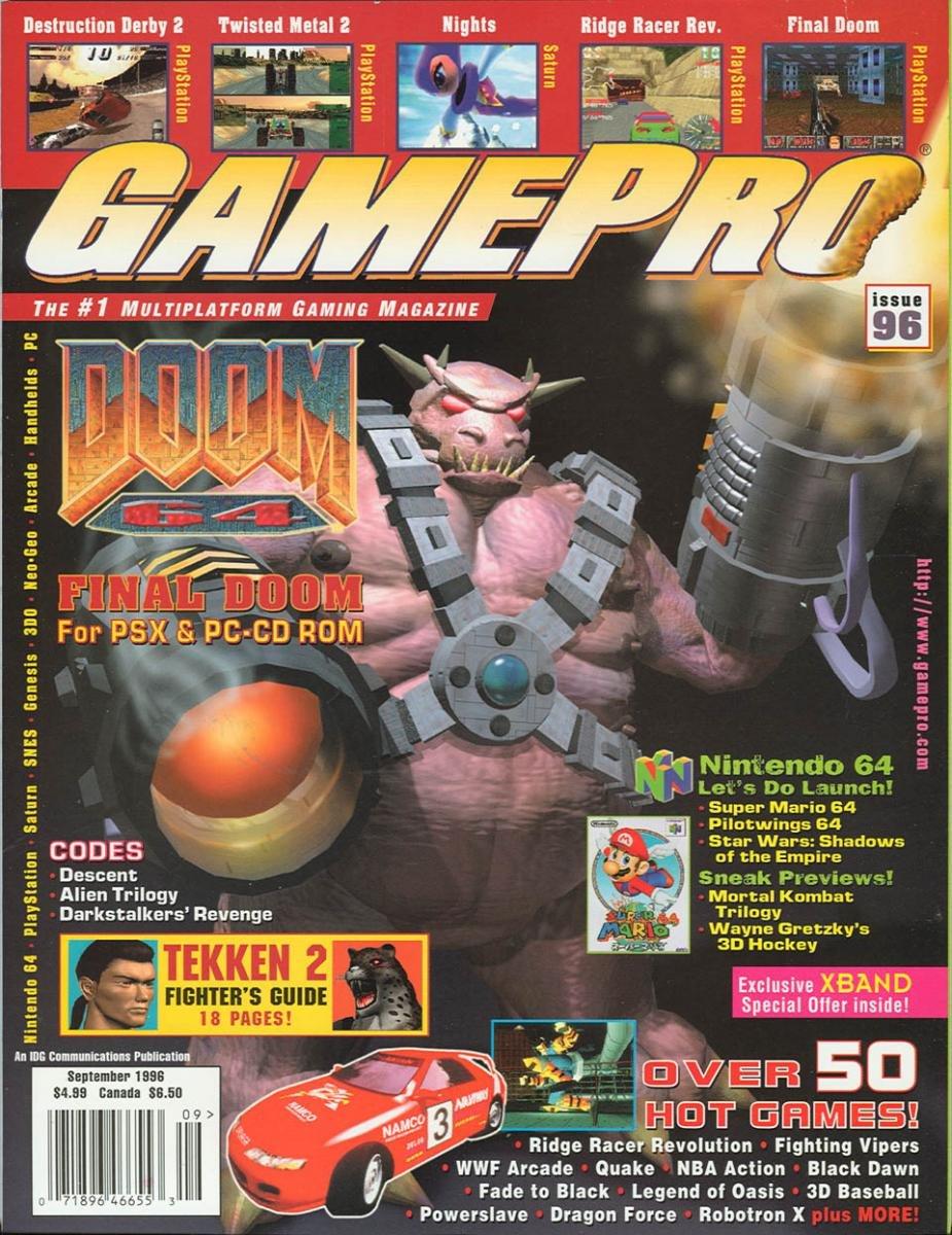 GamePro Issue 096 September 1996