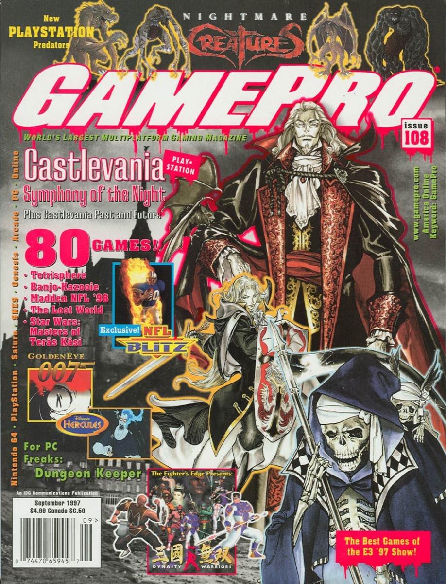 GamePro Issue 108 September 1997