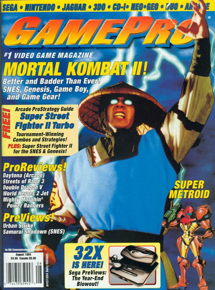 GamePro Issue 061 August 1994