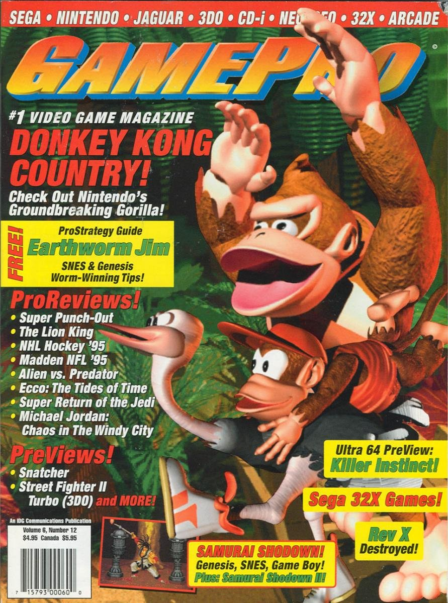 GamePro Issue 065 December 1994