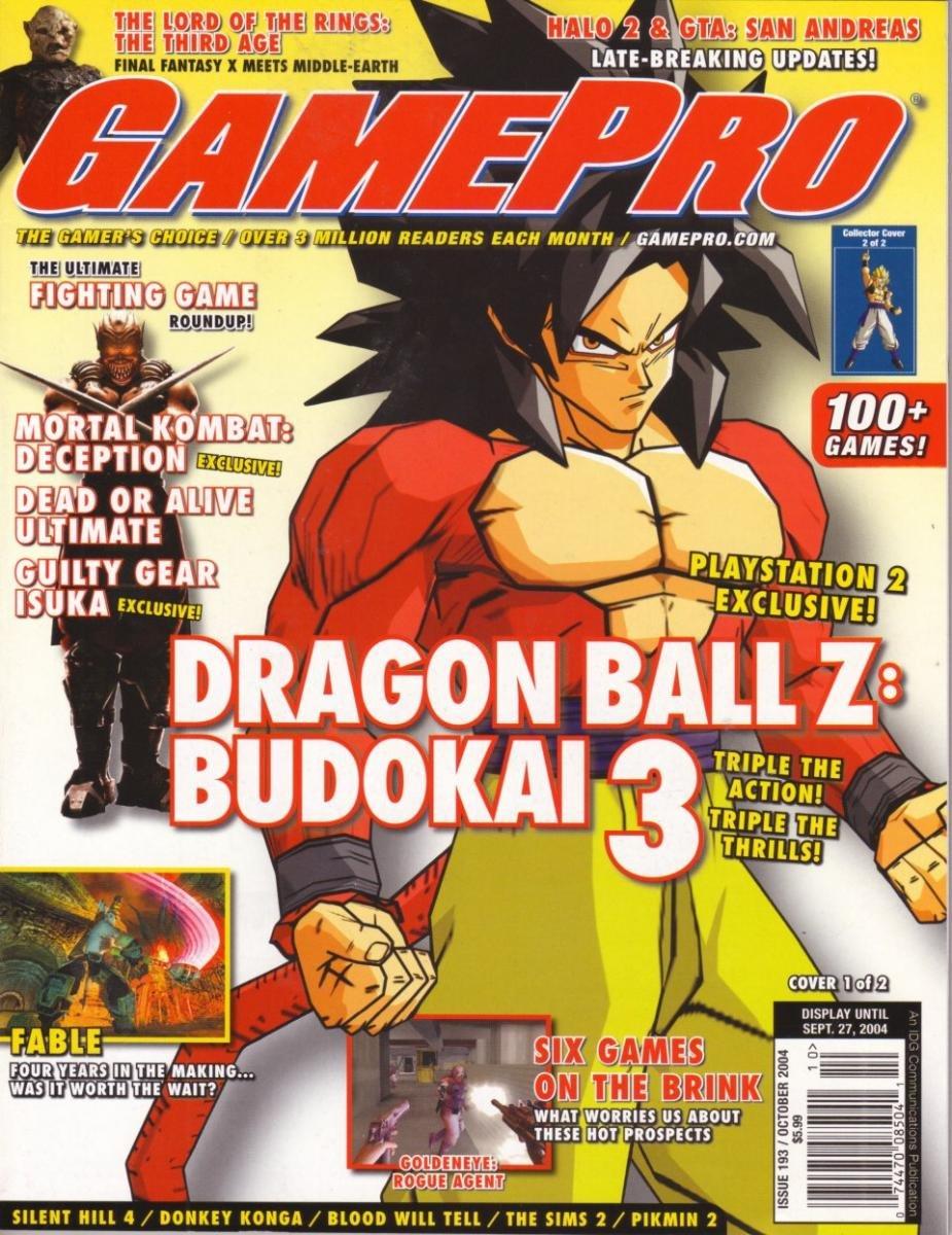 GamePro Issue 193 October 2004