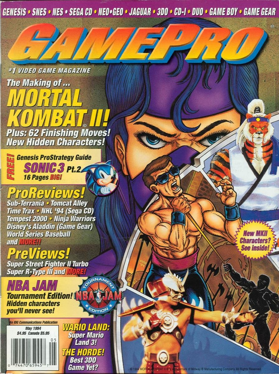 GamePro Issue 058 May 1994