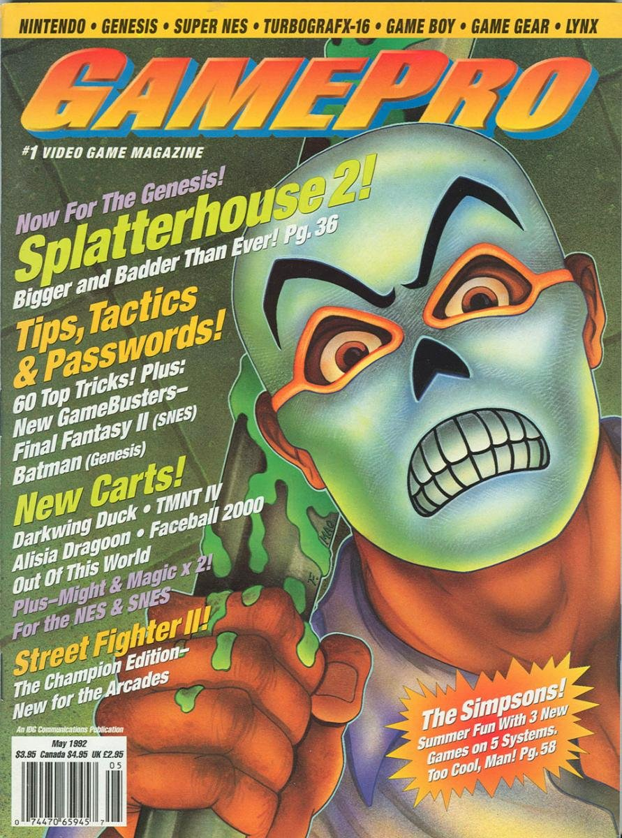 GamePro Issue 034 May 1992