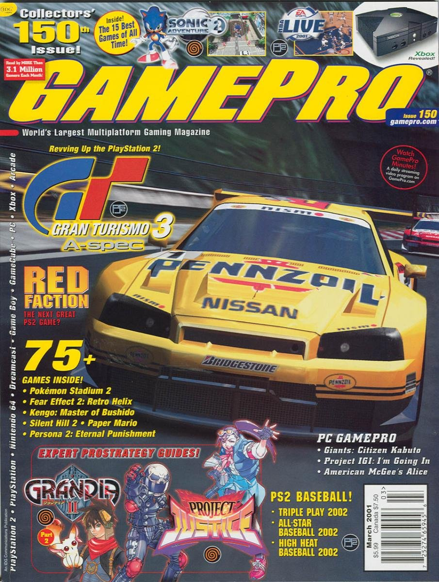 GamePro Issue 150 March 2001