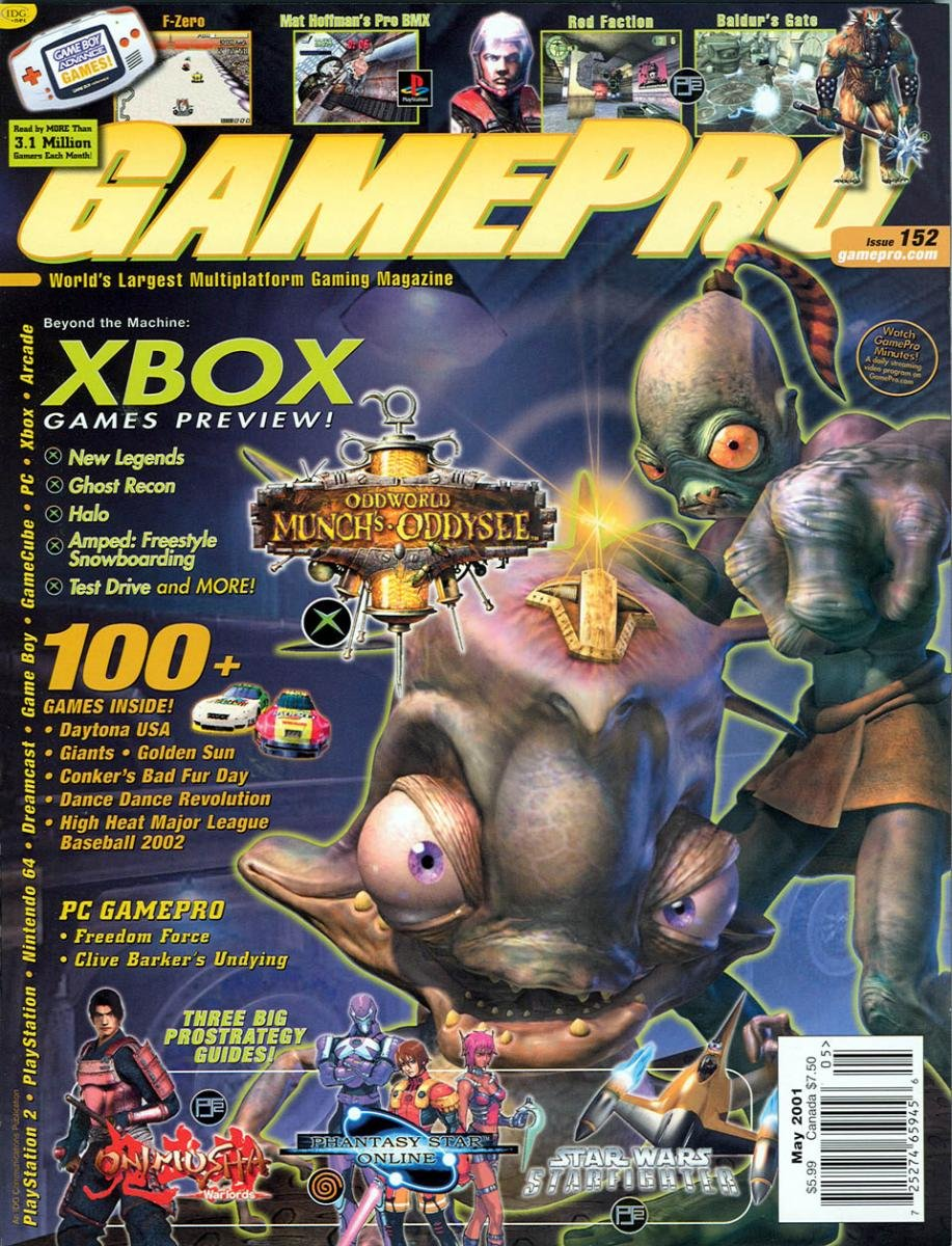 GamePro Issue 152 May 2001