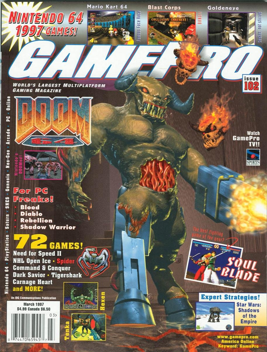 GamePro Issue 102 March 1997