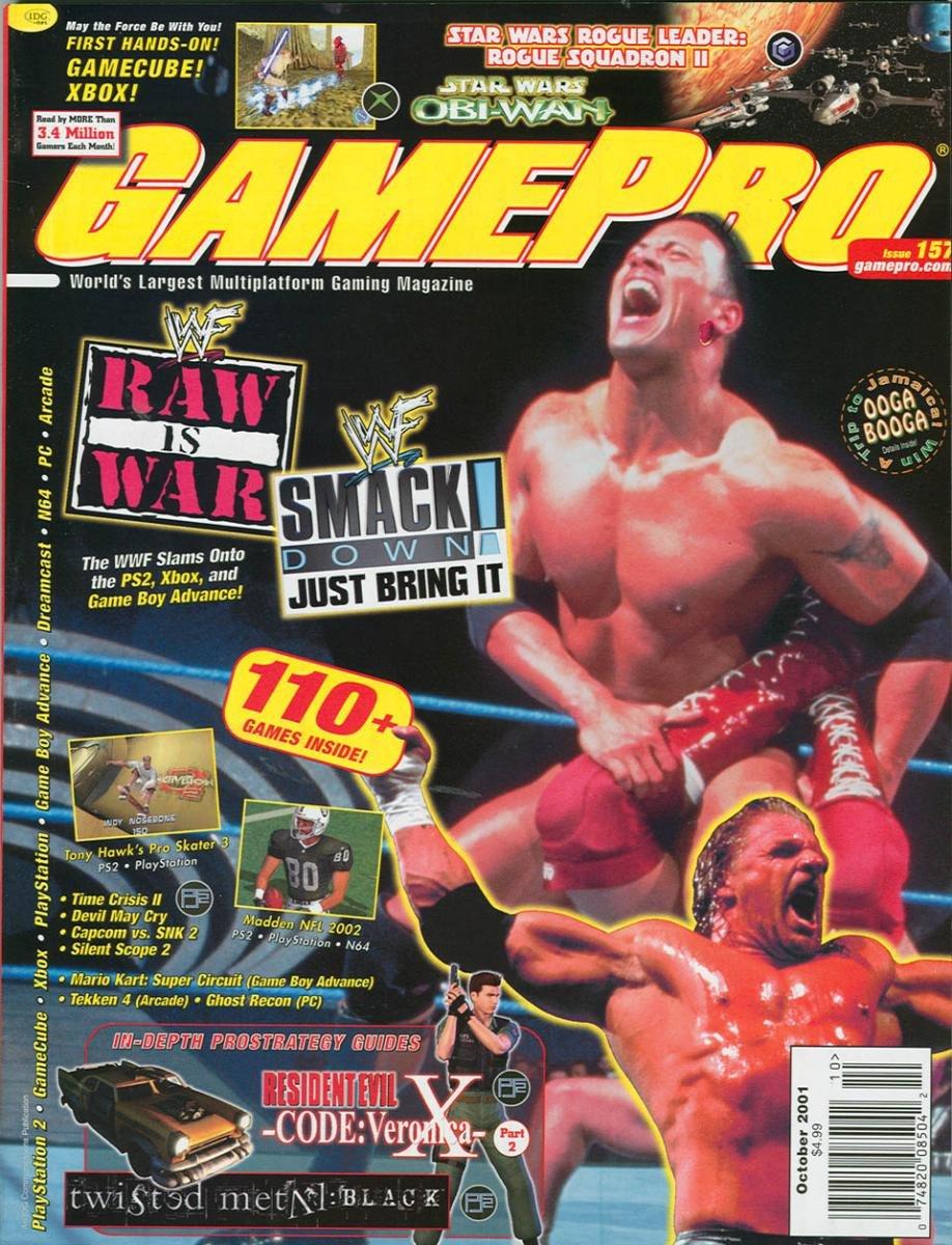 GamePro Issue 157 October 2001