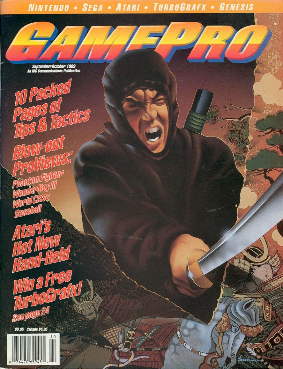 GamePro Issue 003 September/October 1989