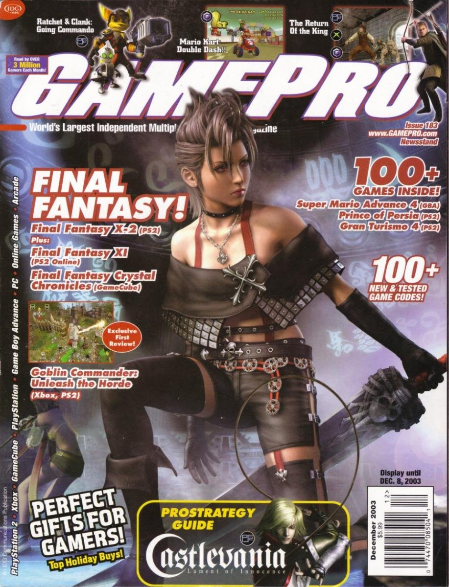 GamePro Issue 183 December 2003