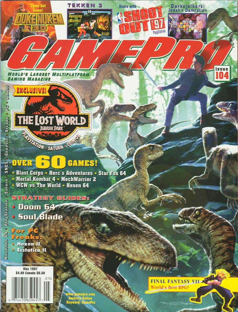 GamePro Issue 104 May 1997