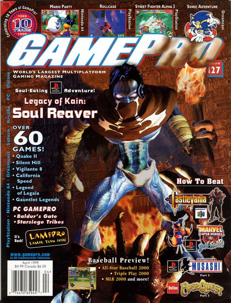 GamePro Issue 127 April 1999