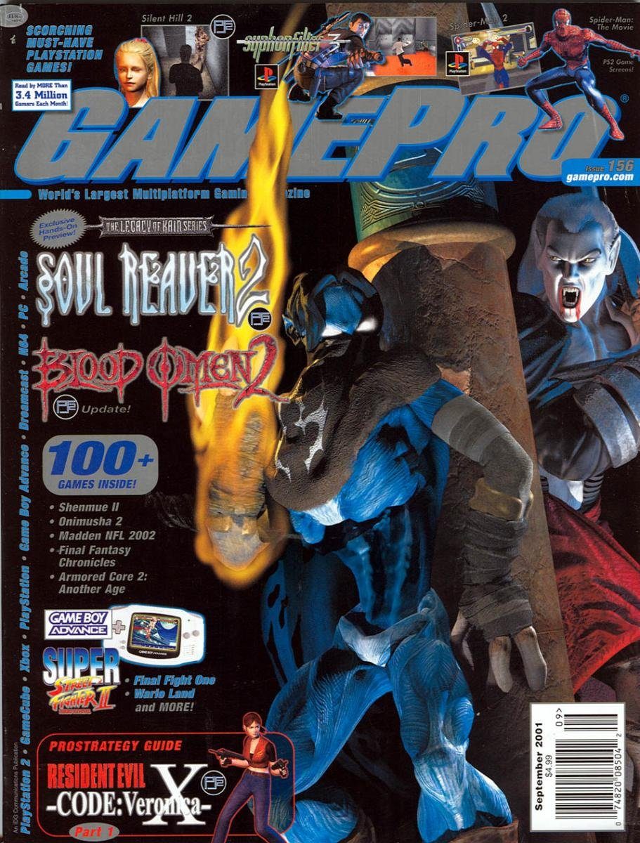 GamePro Issue 156 September 2001