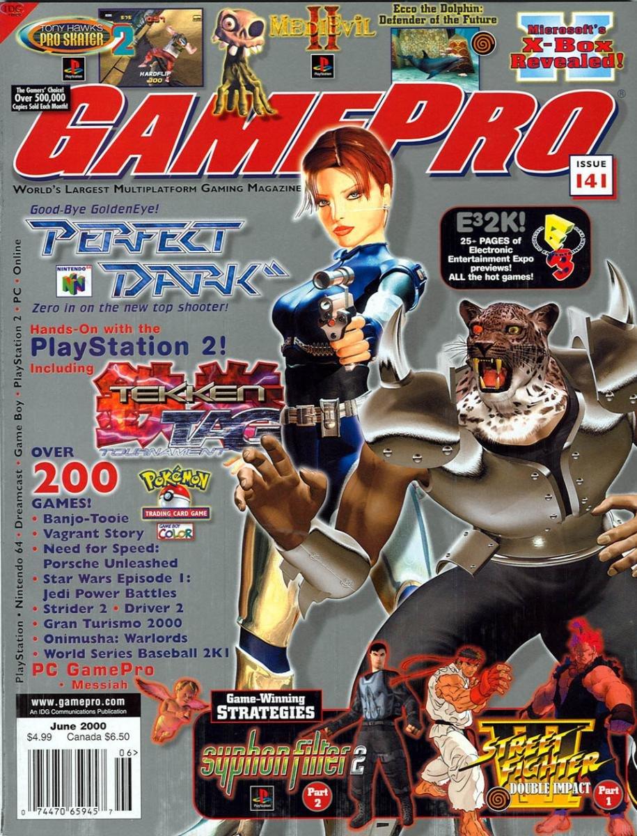 GamePro Issue 141 June 2000