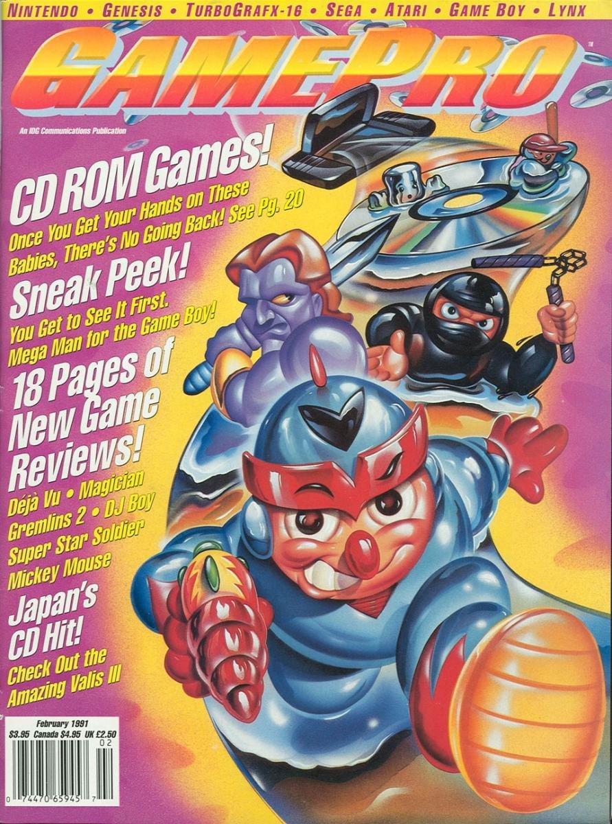 GamePro Issue 019 February 1991