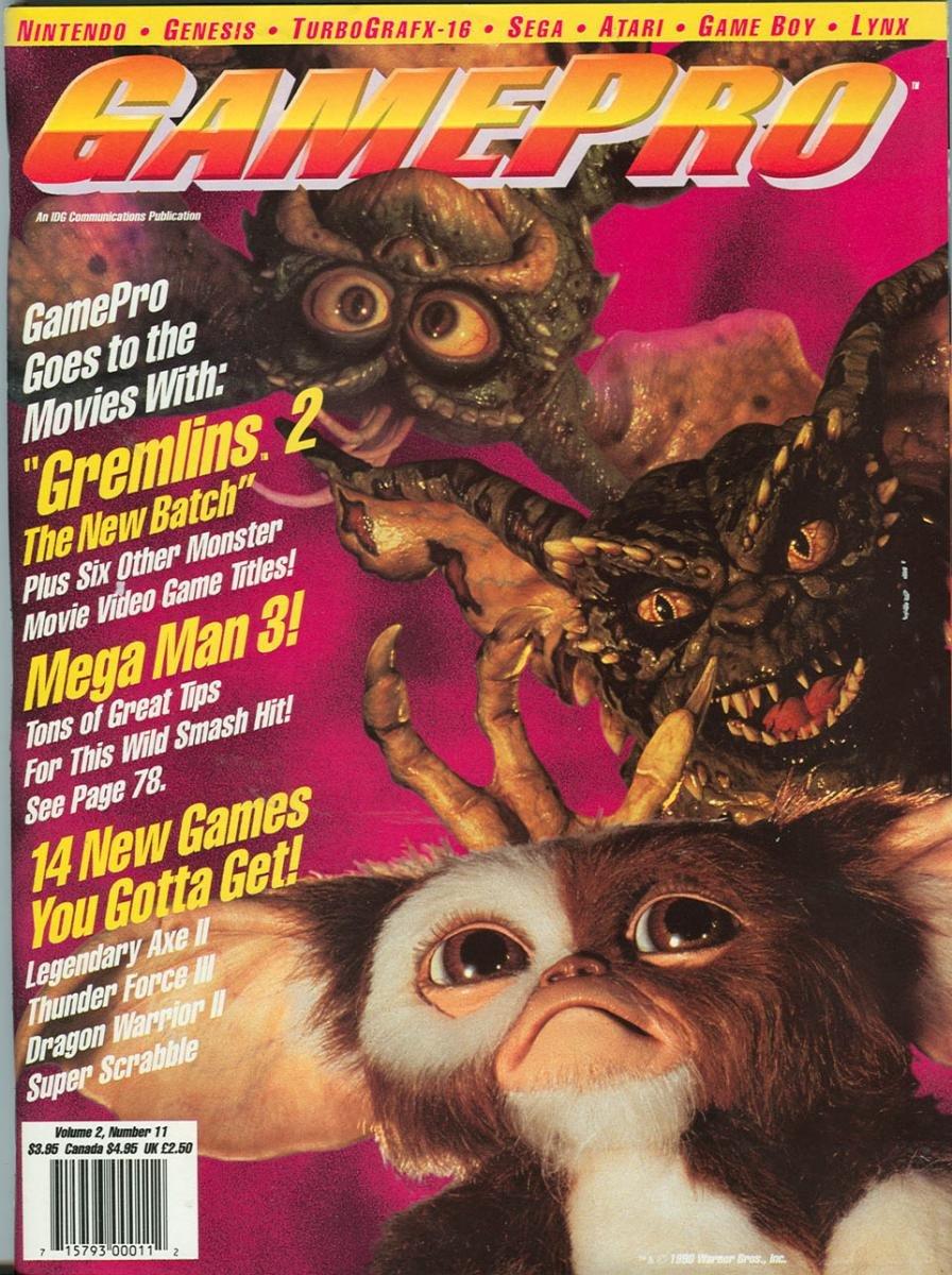 GamePro Issue 016 November 1990