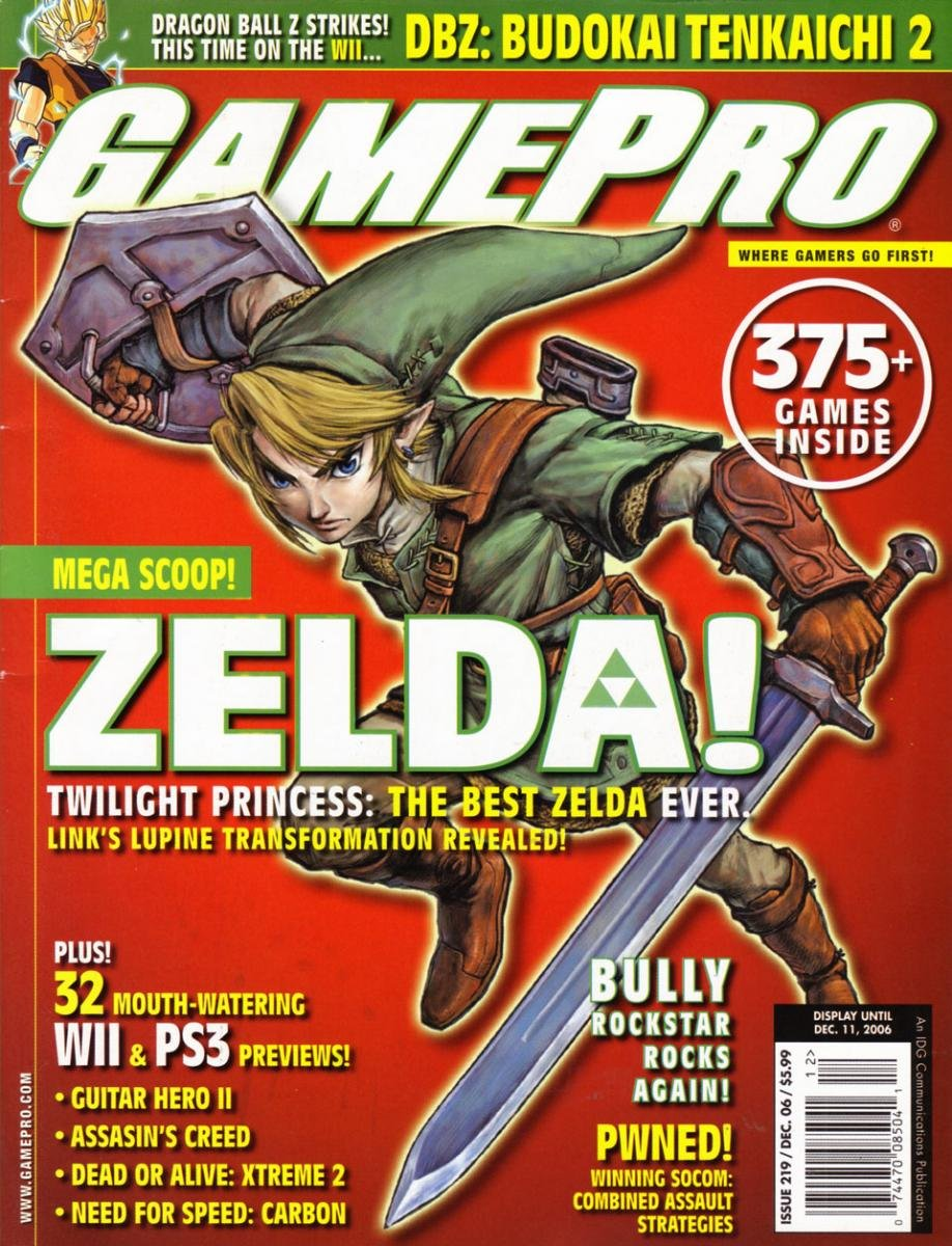GamePro Issue 219 December 2006