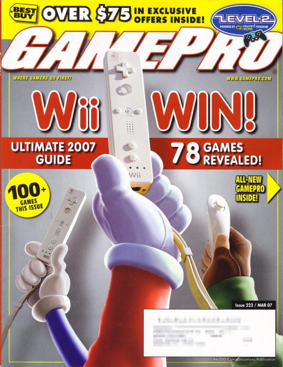 GamePro Issue 222 March 2007 (Subscribers Cover)