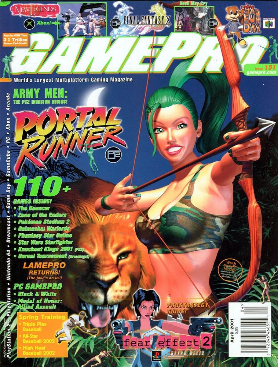 GamePro Issue 151 April 2001