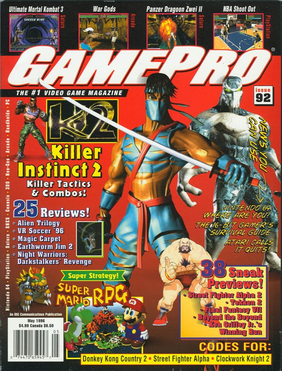GamePro Issue 092 May 1996