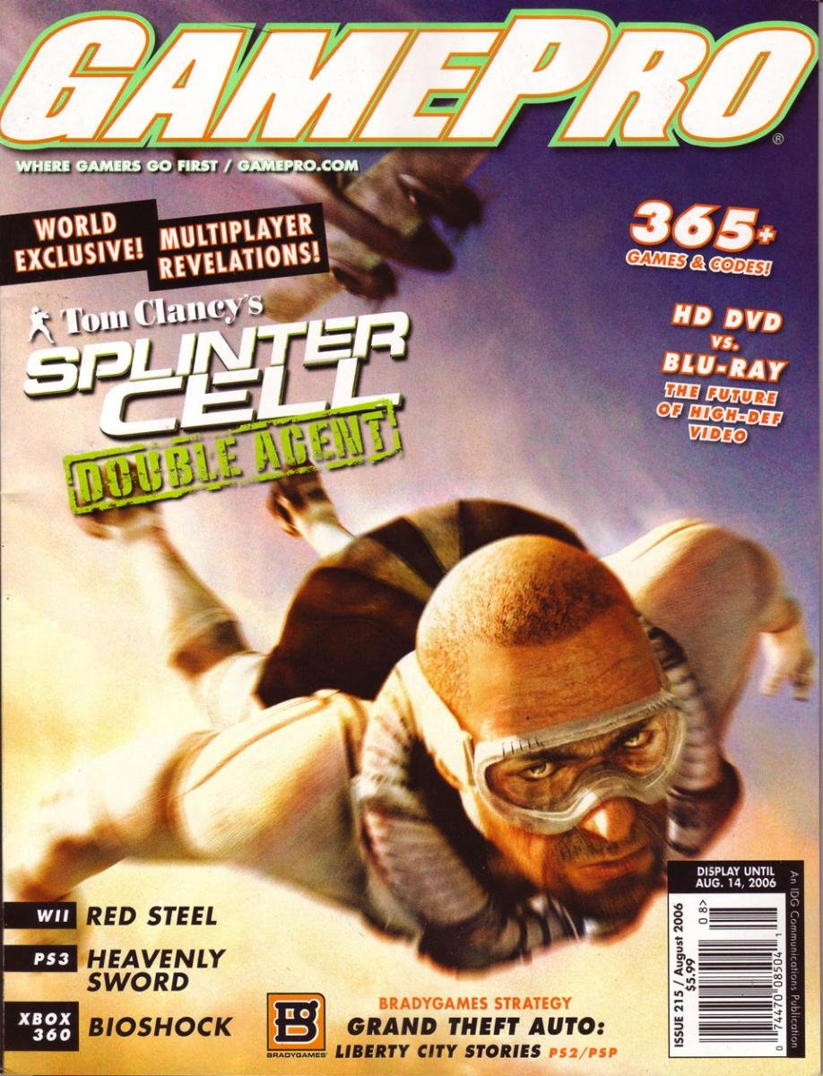 GamePro Issue 215 August 2006