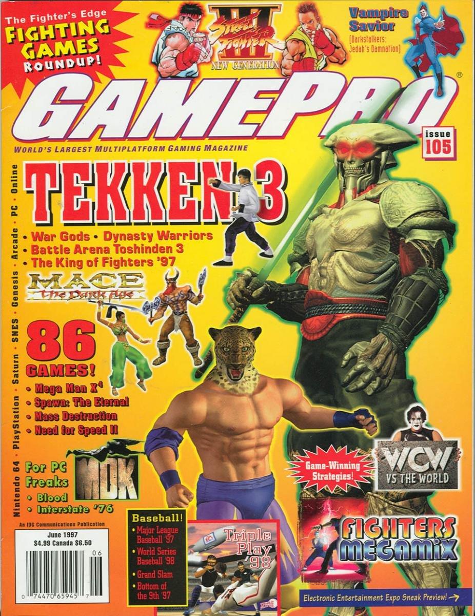 GamePro Issue 105 June 1997