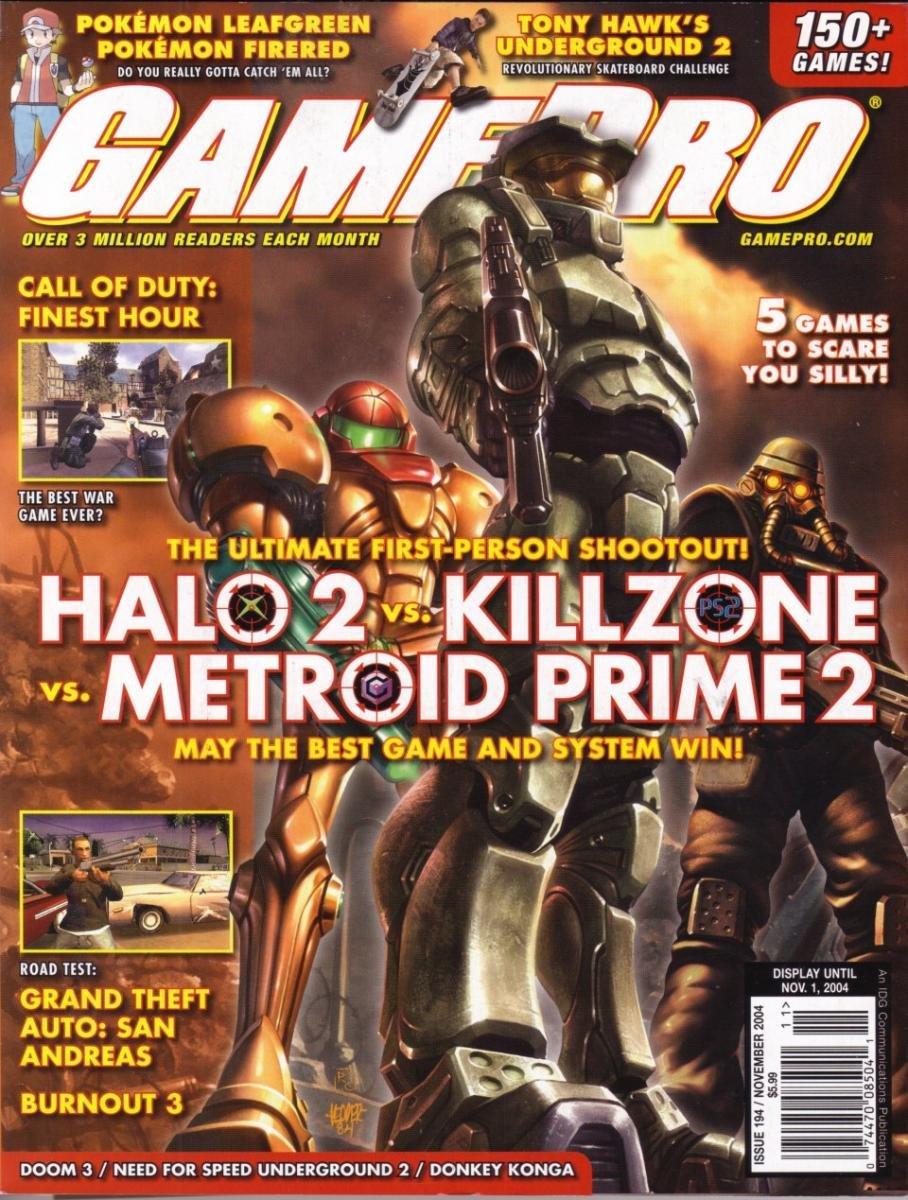 GamePro Issue 194 November 2004